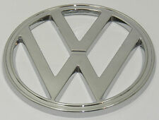 "EMBLEM FRONT "" VW "" 182mm CHROME FITS VOLKSWAGEN TYPE2 BUS 1972-1979"