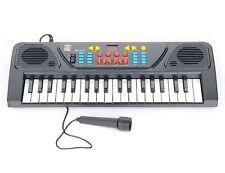 37 Keys Electronic Keyboard Piano Musical Toy Mic Records Kids Children
