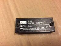 Sansui 881 Rear ID Plate & Cover Vintage Receiver Parts