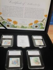2017 Beatrix Potter Limited Edition Coin and Stamp Set only 495 made
