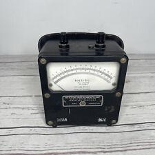 Weston Electrical Instrument Corp Vintage Model 931 Volts Dc Meter