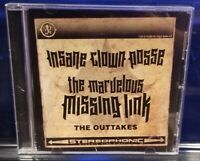 Insane Clown Posse - The Marvelous Missing Link Outtakes CD twiztid psychopathic