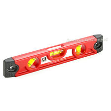 A KAPRO Horizontal Vertical 45° Magnetic Base Rubber End Spirit Level 9""