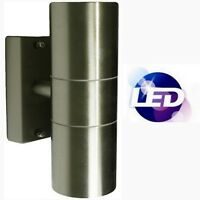 Modern GU10 Up Down Yard LED External Wall Light Indoor Double 240V Porch IP44