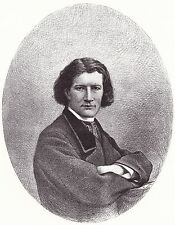 Portrait XIXe Victorien Sardou Le Cannet Alpes-Maritimes Spiritisme Théâtre 1862