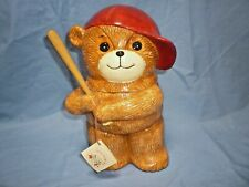 Enesco Lucy and Me Unbearably Cute Cookie Jar W/Tag Baseball Boy (T)
