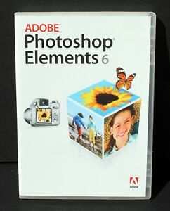 Photoshop Elements 6 – Photo Editing Software w/Serial Number – Windows OS