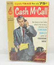 Cash McCall By Cameron Hawley (1956) PB