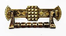 "Brass Art Nouveau Victorian Eastlake Antique Hardware Drawer Pull 3""center"