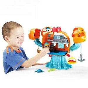 Octonauts Ocean Adventure Action Toy Figures Light Music Joy Octopus Castle