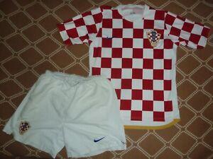 shirt shorts jersey Croatia 2006 2007 2008 home ,M Nike