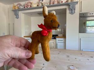 Vintage miniature Steiff Bambi,Deer,Fawn,steiff toy Bambi.bears chum.