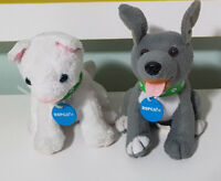 CUTE RSPCA PLUSH TOYS! SOFT TOY PUPPY DOG ABOUT 11CM TALL KIDS TOY KITTEN CAT!