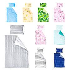 Kinderbettwäsche 2-teilig Baumwolle100 x 135 cm (40 x 60 cm) mit Hotelverschluß