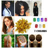 100PCS Aluminum Beads Braid Hair Clips Decoration Crown Wig Lock Tube Rings NEW