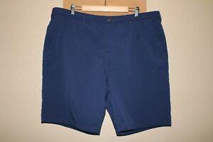 "HURLEY/NIKE Mens 42"" Waist blue Dri-Fit shorts Combine ship Discount"
