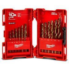 Milwaukee 48892530 19pce RED HELIX Cobalt Drill Bit Set