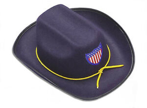Federal Army Union Officer Navy Blue Civil War Hat CHILD Costume Accessory
