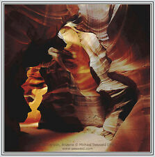 Master photographer Michael Seewald's Slot Canyon, Arizona photograph eBay spec.