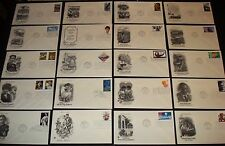 POSTAL COMMEMORATIVE  PCS 20 DIF 2003-4 OHIO AUDREY HEPBURN KOREAN WAR FDC AC12