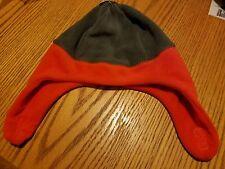 Children's Place Toddler Boys Graystone (gray/orange) Fleece Hat New 2T-3T M