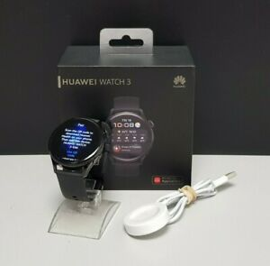 Huawei Watch 3 Active 46mm with black strap ***FREE POSTAGE***