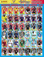 CALCIATORI ADRENALYN XL PANINI 2017-18 2017 2018 - UPDATE BIS PLUS AGGIORNAMENTI