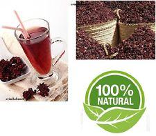 100 % Organic Natural  HIBISCUS TEA KARKADE Natural Product - 1 box 20 Tea Bags