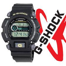 Casio G-Shock Shock/Water Resistant Black Digital Watch & Resin Band DW9052-1B