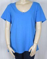 Autograph Cotton Blend Short Sleeve Tops & Blouses for Women
