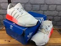 ADIDAS OG LADIES UK 5.5 EU 38 2/3 2020 NMD R1 TRAINERS WHITE RED BLACK RRP £75 M