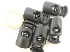 UK stock 10pcs Toggles Cord Adjusters Orbs Spring Loaded cord locks Rope lock