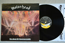 Motorhead~No Sleep 'til Hammersmith~Bronze Records BRON-535 Vinyl LP 1981 EX