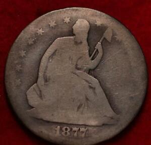 1877-S San Francisco Mint Silver Seated Half Dollar