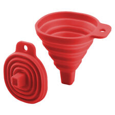 Mini Plegable de silicio Embudo Plegable Resistente Al Calor Accesorio de Cocina Herramienta