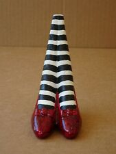 Westland Wizard of Oz Wicked Witch of the East Legs Ruby Red Slippers Doorstop