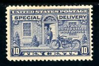 USAstamps Unused FVF US Special Delivery Scott E12 OG MHR Tear