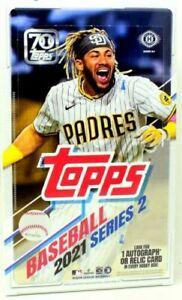 2021 Topps Series 2 Baseball Hobby Factory Sealed Box