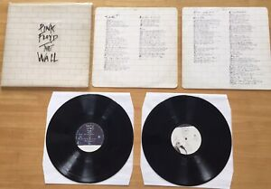 Pink Floyd The Wall Original Pressing With Sticker Still On Sleeve Vinyl Lp