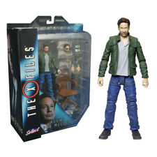 """THE X FILES DIAMOND SELECT AGENT FOX MULDER 7"""" ACTION FIGURE COLLECTIBLE"""