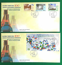 100 YEARS OF INSTITUTE FOR MEDICAL RESEARCH-IMR DNA FDC STAMP&MNH SET YEAR 2000