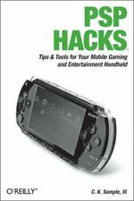 PSP Hacks by Sample  New 9780596101435 Fast Free Shipping..