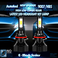 CREE 9007 HB5 LED Headlight Conversion Kit 300W 30000LM High Low Beam Bulbs 2Pcs