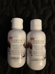 Physician's Formula Coconut Milk Eye Makeup Remover For Normal to Dry Skin 2x