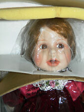 WORLD GALLERY PORCELAIN DOLL SOPHIA FROM TERRI DeHETRE COLLECTION  in box LARGE