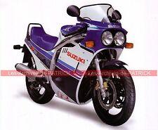 SUZUKI GSX-R 750  ( GSXR ) 1985 Fiche Moto 000067