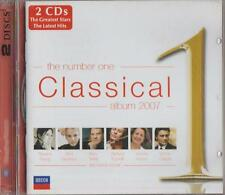 C.D.MUSIC  E34   THE NUMBER ONE  CLASSICAL  ALBUM  2007   2 DISC SET CD