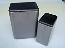 """Plastic Insert Plugs the open end of 2"""" x 5"""" Rectangular Tube 10-12 gage wall"""
