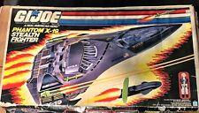 1988 GI JOE Phantom X-19 Stealth Fighter W/ Ghostrider Figure NEW