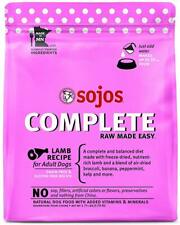 Sojos Lamb Recipe Complete Adult Dog Food, 1.75 Lb